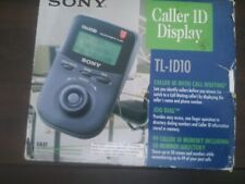 Sony Caller ID Display Unit Large Capacity Storage TL-ID10 - open box