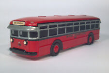 1970s Motor Bus Society Ceramic 1927-1934 Twin Coach Model 40 Scale Model Bus