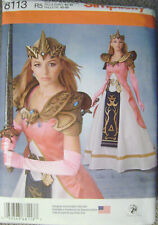 Simplicity 8113 Warrior Queen~Princess~Craft Foam Armor~ Belt~Crown~Costume