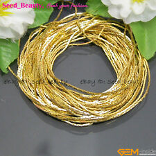 5 Meters DIY Jewelry Making Findings Gold-plated Chain Yellow 0.8x0.8mm