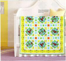 Topsy Turvy Teddies Quilt Pattern Pieced SH