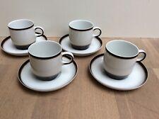 6 Arzberg Profi Café Au Lait-Obertassen Braun Kaffeetassen 440ml NEU