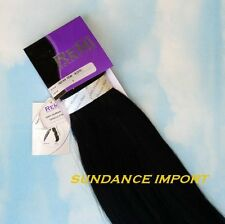 "INDIAN REMY HUMAN HAIR EXTENSION WEAVE WEFT 22"" COLOR 1 JET BLACK"