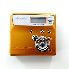 Sony Mz-N505 Type R Walkman Player/Recorder (Gold) Tested & works