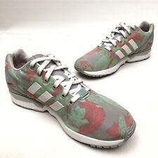@@ Rare Adidas ZX FLUX Women's Floral Running Torsion Shoes 10.5 Eu43 Athletic