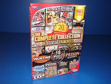 NEW PC 18 Wheels of Steel/Hunting Unlimited/Prison Tycoon 20 GAME PACK
