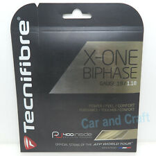 2x Tecnifibre X-ONE Biphase 40ft/12.2m XONE Tennis String Gauge 18/17/16 Track