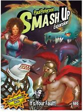 Smash Up It's Your Fault! Set Expansion Deck Building Card Game From AEG 5509