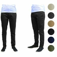 Galaxy by Harvic Men's Cotton Stretch Slim Fit Chino