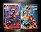 COMICS: Maximum Press: Avengelyne #4-5/Blindside #1 (vol 2, 1996) - RARE