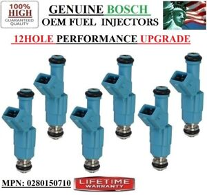 12HOLE UPGRADE Bosch FORD BRONCO II 2.9L V6  1986-1990  Fuel Injectors For 6x