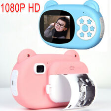 1080P Mini Kids Instant Print Digital Camera Printer Video with Photo Paper Gift