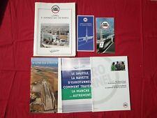 N° 2005 / EUROTUNNEL 1993-1994 dossier de presse   le Shuttle