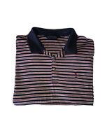 Ralph Lauren polo golf Men's size XXL short sleeve golf polo shirt Coral /Navy