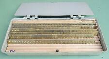 180 Buchstaben Zahlen Schriftsatz Schablonen Messing Graviermaschine Gravograph
