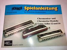 Hohner-Spielanleitung für chromatische Mundharmonikas