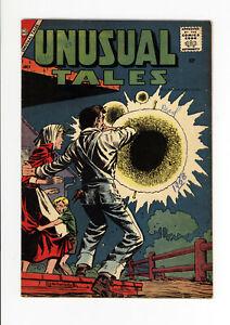 UNUSUAL TALES #12  FN+ - STEVE DITKO ART - RARE ISSUE - 1958