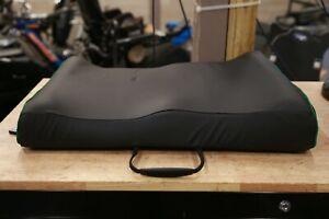 "Comfort Company Inception Custom OFFSET 23x17"" Power Wheelchair Seat Cushion Pad"