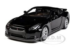 2009 NISSAN GT-R R35 BLACK 1/24 DIECAST CAR MODEL BY MAISTO 31294