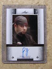 2011 Leaf Razor Poker SCOTT FISCHMAN Clubs Black version /375