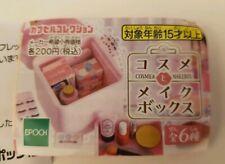 Epoch Mini Makeup Gashapon mini figure Eyelashes brush