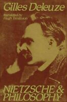Nietzsche and Philosophy, Paperback by Deleuze, Gilles, Like New Used, Free s...