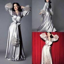 Feather Pajamas Women Robes Sleepwear Party Video Work Wedding Plus Size Custom