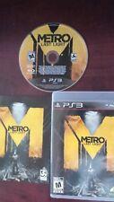 Metro: Last Light For Sony PlayStation 3.