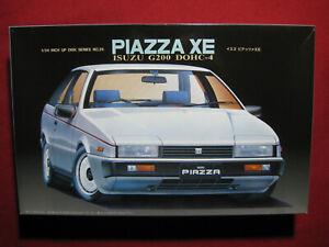 1985 Isuzu Piazza XE G200 DOHC-4 1/24 Fujimi Japan Plastic Model Kit Rare
