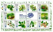 SRI LANKA/2020, (Sheetlet) WORLD WETLANDS DAY (Flowers), MNH