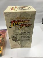 Indiana Jones: Adventure Collection - Plus Young Indiana Jones (VHS, 4-Tapes)