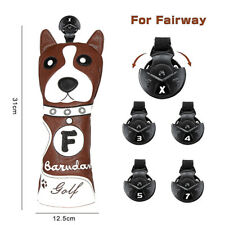 New Dog Golf Fairway Headcover Fairway Wood Cover 3 Wood Cover For Taylormade M2