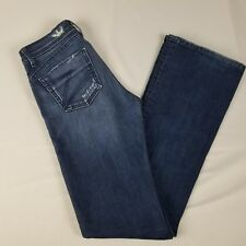 Dylan George Womens Jeans Size 27 Medium Wash Distressed Ring Spur Denim