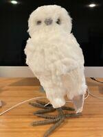 Brand New Pottery Barn Owl Decoration Realistic Shelf Decor