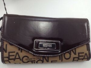 Women's Kenneth Cole Reaction Brown and Beige Wallet - $52 MSRP