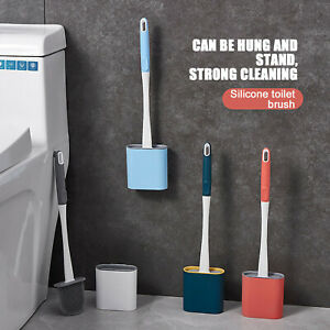 Toilet Brush No Dead Ends To Wash The Toilet Silicone Brush Hanging Type