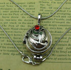 The Vampire Diaries Elena's Vervain Pendant Antique Silver Locket Necklace Gift