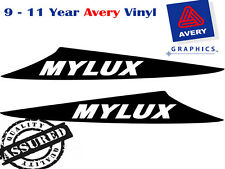 MYLUX Decal Sticker For HILUX 3 Fin Large Bonnet Scoop 2012 to Current 4X4
