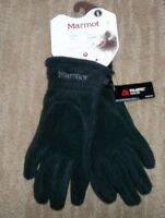BURTON Black EMBER Fleece Touchscreen TECH Winter GLOVES Mens Small NEW