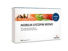 Medicom Nobilin LYCOPIN MONO, 60 Kapseln Tomatenextrakt Prostata (0,18€/Kapsel)