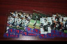 (46) 1996 CLASSIC CLEAR ASSETS $1 PHONE CARD LOT (AIKMAN-SHAQ-RYAN-RHEAUME)