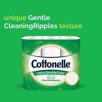 Cottonelle Ultra Gentle Care Toilet Paper, Double, Mega & Family Mega Rolls/ NEW