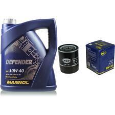 Vidange Kit 5 Litre mannol Defender 10W-40 + Sct Filtre à Huile Service 10164129