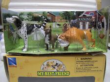 """NewRay  Set 2  ca. 1:12  Set    """" MY BEST-FRIEND """"  mit 3 Hunden  Art. 34013"""