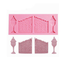 European Door Column Lamp Silicone Chocolate Candy Mold Fondant Cake Sugarcraft