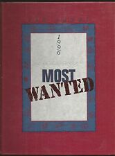 1996 CERRITOS CA HIGH SCHOOL YEARBOOK MOST WANTED NO SENTIMENTS INSIDE!!!!