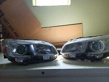 FITS 15-19 Subaru WRX STI BLK LED Tube Sequential Signal Projector Headlights