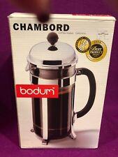 Chambord Bodum French Press Coffee Maker New NIB 34 oz Capacity