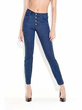 GUESS Women's Claudia Skinny Jean - Anniversary Collection – Denim Blue sz 24