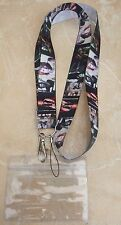 Jon Bon Jovi Lanyard / Neck Strap for Pin Trading inc. Waterproof Holder